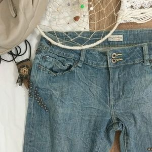 People for Peace Jeans - People for Peace Embellished Flare Jeans - 31 !